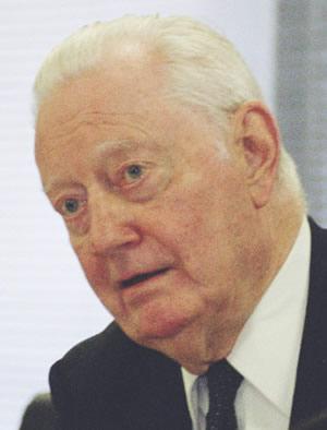 William Porter, Founder President of the ICF (Photo: Blair Cummock)